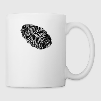 fingerprint dns dna gift angel angler - Mug