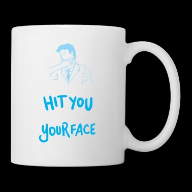 I Did Not Hit You I High Fived Your Face Gift - Mug