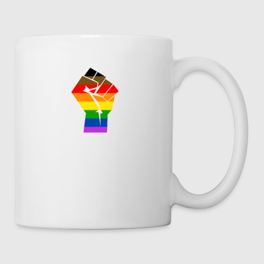 Colormore Orgoglio Rainbow Flag LGBT Philly - Tazza
