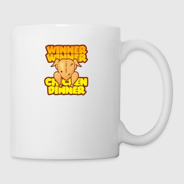 WINNER WINNER CHICKEN DINNER PUBG GAMING MOTIVE - Mug