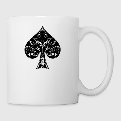 Spades kort symbol Tribal Poker Ace Hold'em - Kopp