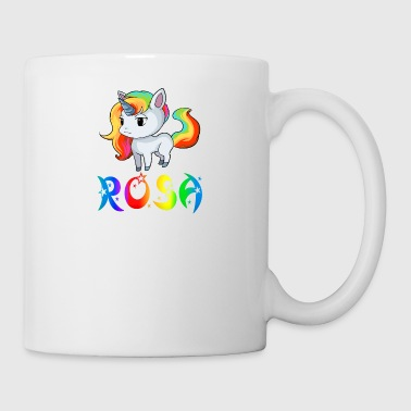 rosa Unicorn - Mugg