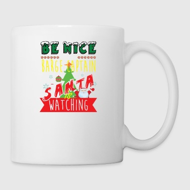 Barge Captain Christmas Gift Idea - Mug