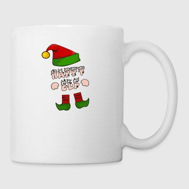 Happy Elf - Happy Elf - Xmas Gift - Mug