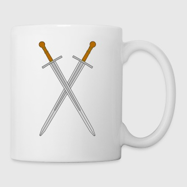 Two crossed swords - Mug
