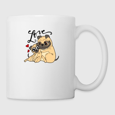 Dog love - Tasse