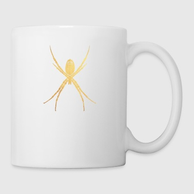gold spinne - Tasse