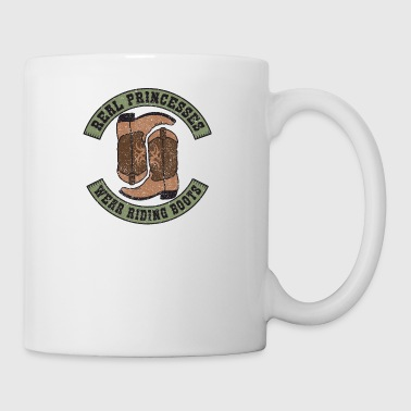 Equestrian Riding Boots Funny Horse Lover Gift - Mug