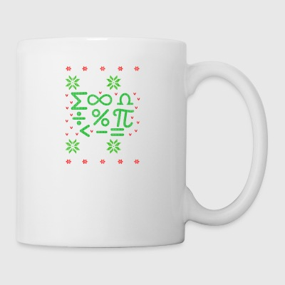 Mathematics formulas Ugly Christmas - Mug