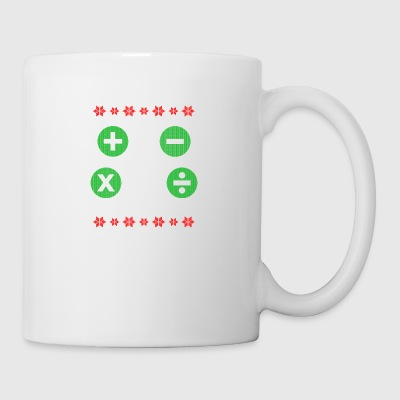 Math Ugly Christmas Gift - Mug