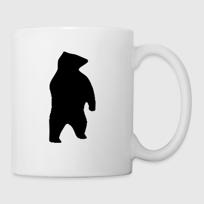 Silhouette ours - Tasse