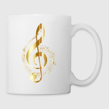 golden clef - Mug