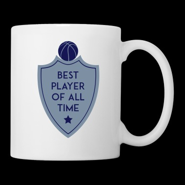 BEST PLAYER OF ALL TIME SHIELD BASKETBALL - Tasse