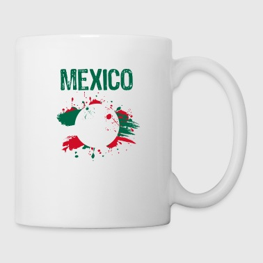 Champion du Mexique Football Football Shirt - Mug blanc
