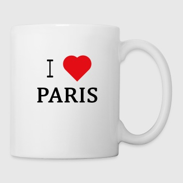 I Love Paris - Kubek
