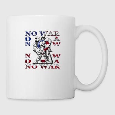 Amérique No War - Mug blanc