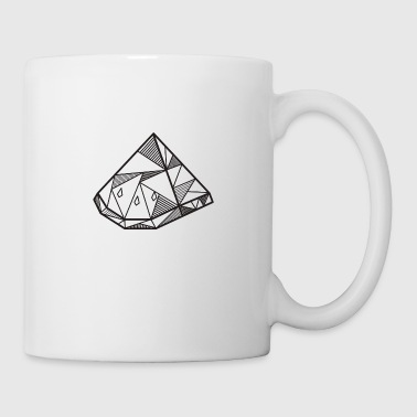 Watermelon geometric gift hipster summer - Mug