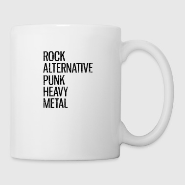 Punk Geschenk Musik Rock Alternative Band Punker - Tasse