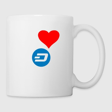Crypto Dash Love. - Mug blanc