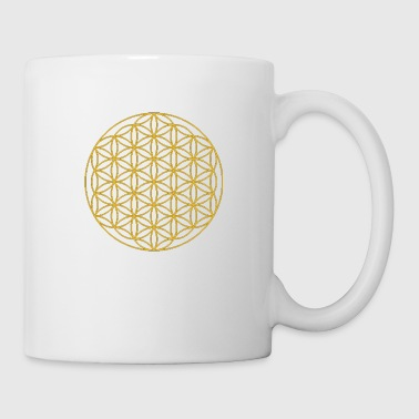 Circles flowers sacred geometry - Mug