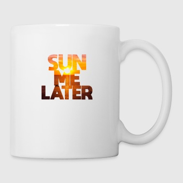 Soleil plus tard Sunshine Majorque Summer Beach Miami - Mug blanc