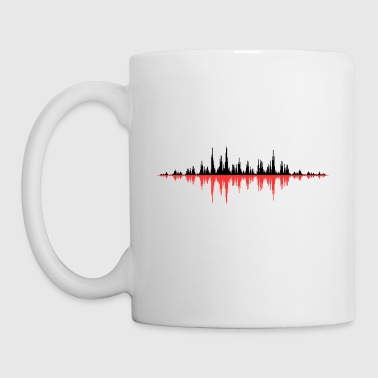 Red Sound Wave - Tazza