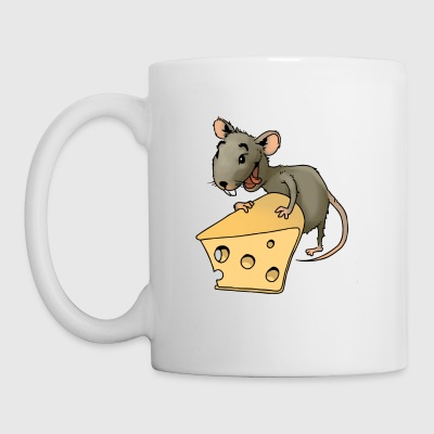 rongeur souris Fiese vermine rongeur souris fromage - Tasse