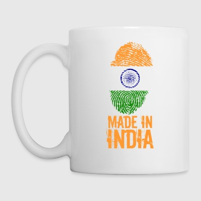 Made in India / Gemacht in Indien - Tasse