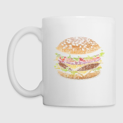 I Love Hamburger - Mug