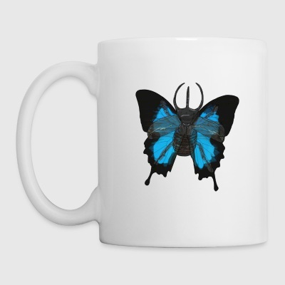 Käfer-Schmetterling - Tasse