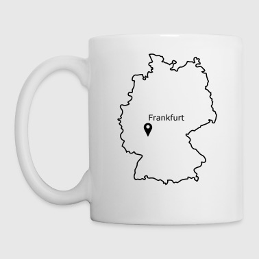 place to be: Frankfurt - Mug
