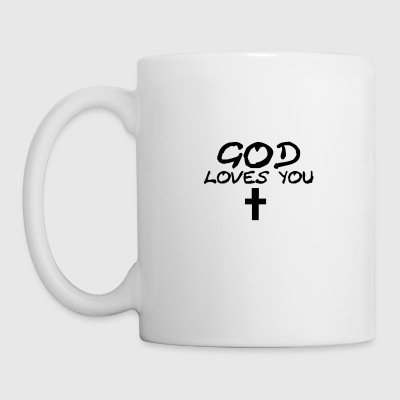 God Loves You - Mug