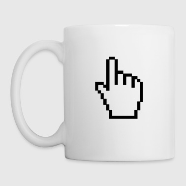 ordinateur main - Tasse