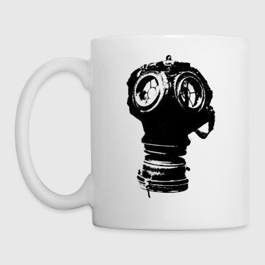 gas-mask2 - Taza