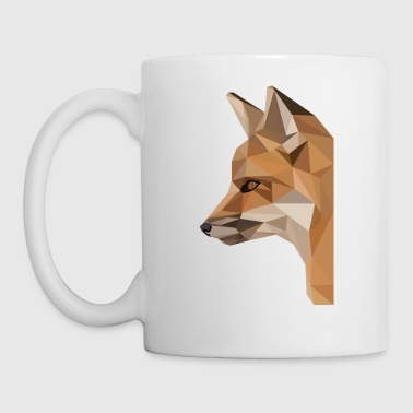 renard low poly - Tasse