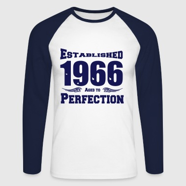 1966 Established - Männer Baseballshirt langarm