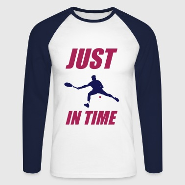 JUST IN TIME - T-shirt baseball manches longues Homme