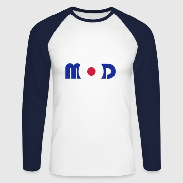 Mod Logo - Men's Long Sleeve Baseball T-Shirt