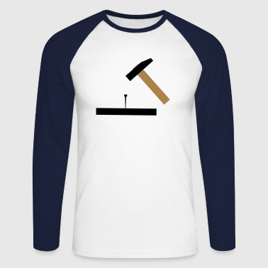 Hammer - Men's Long Sleeve Baseball T-Shirt