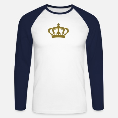 Couples crown limited g1_4c  - Men's Long Sleeve Baseball T-Shirt