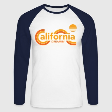 Californie CALIFORNIA DREAMIN Tee Shirts - T-shirt baseball manches longues Homme
