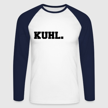 Kuhl funny motif white - Men's Long Sleeve Baseball T-Shirt