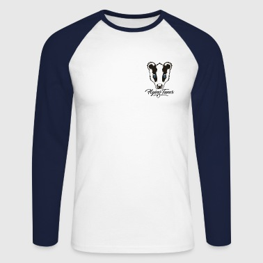 FlyingTunes Mascot - Men's Long Sleeve Baseball T-Shirt