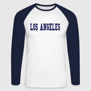 los angeles - Langermet baseball-skjorte for menn