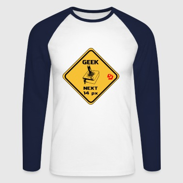 roadsign geek by customstyle - T-shirt baseball manches longues Homme