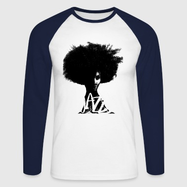 Jazz - T-shirt baseball manches longues Homme