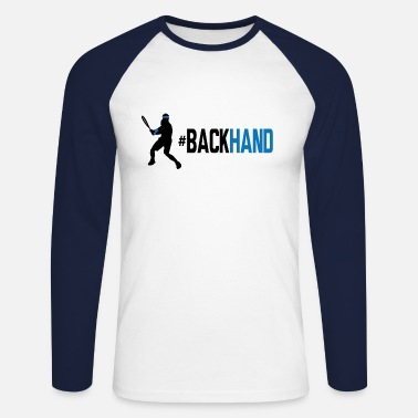 Backhand backhand 01 - Men's Longsleeve Baseball T-Shirt
