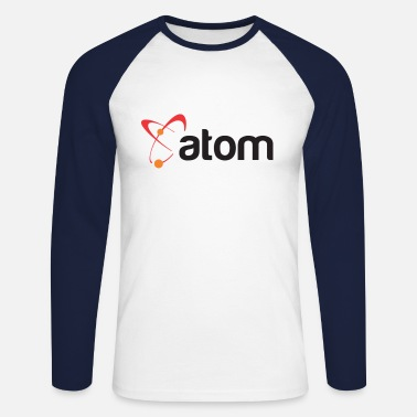 Atome L'atome - T-shirt baseball manches longues Homme