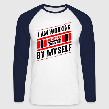 motivation - T-shirt baseball manches longues Homme