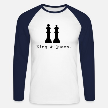 King Queen King & Queen. - T-shirt baseball manches longues Homme